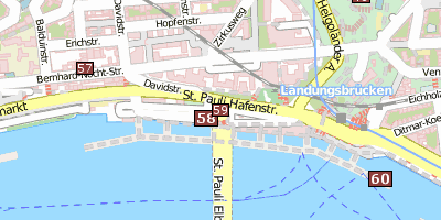 Alter Elbtunnel Hamburg Stadtplan